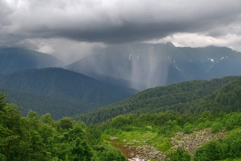 Вершина Ачишхо. Многодневные походы с горными гидами