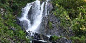 Трекинговые походы в горах. Водопад Кейву