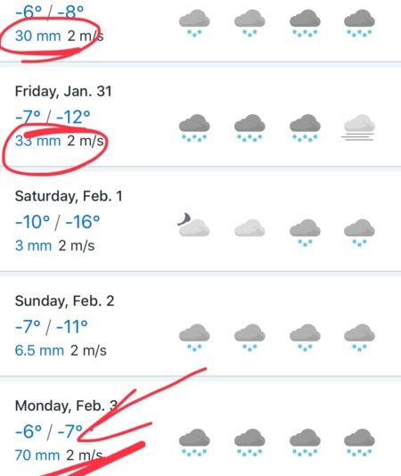 Завалит по самые уши! Снегопад в Красной поляне