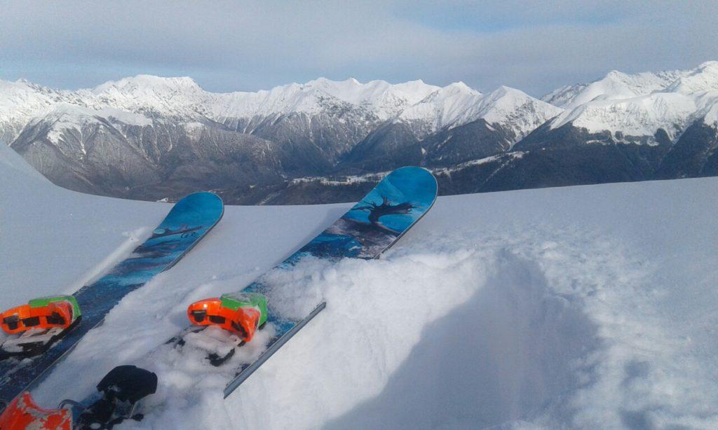 Тест лыж Icelantic Nomad 125