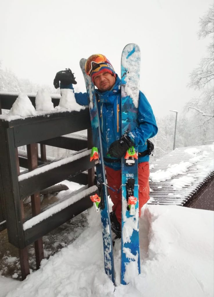 Тесты лыж 2020. Icelantic Nomad 125
