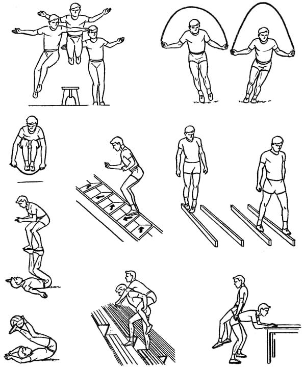 Упражнения чтобы быть в форме
