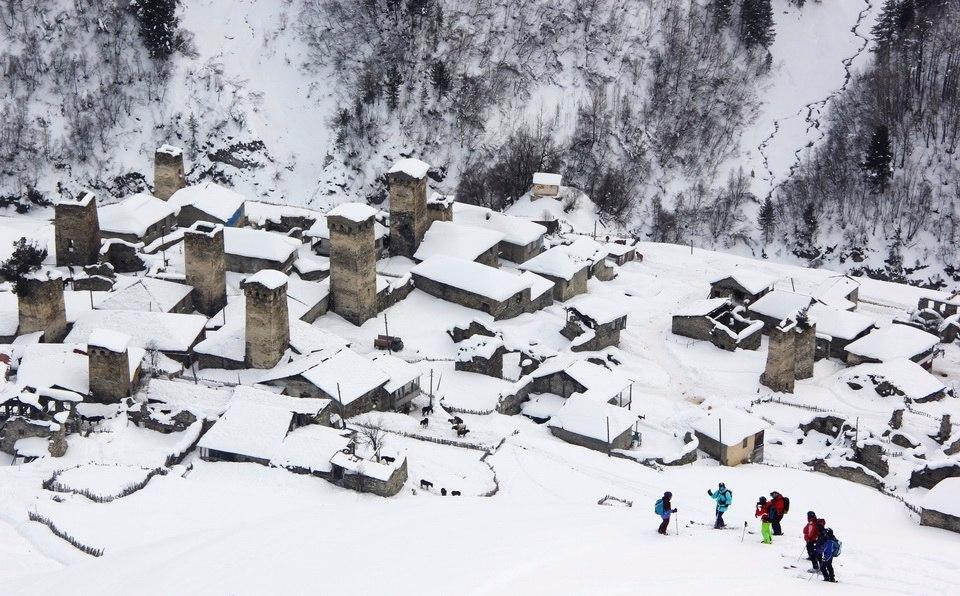 СВАНЕТИЯ, ГРУЗИЯ, деревня Адиши (2017)